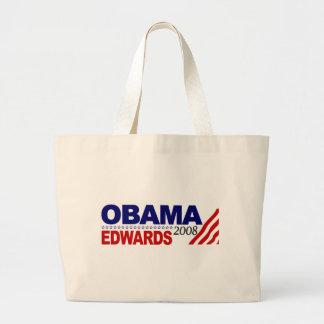 Obama Edwards 2008 Jumbo Tote Bag