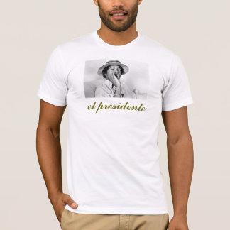 obama, el presidente T-Shirt