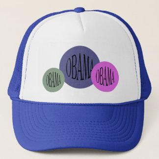Obama election memorabilia trucker hat