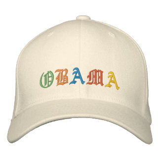 Obama Embroidered Cap