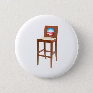 Obama Empty Chair 6 Cm Round Badge