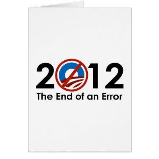 Obama End of an ERROR Card