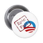 Obama Epic Fail Button