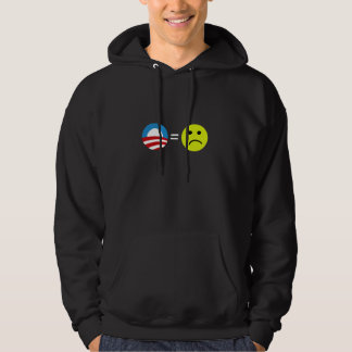 Obama Equals Frowns Hoodie