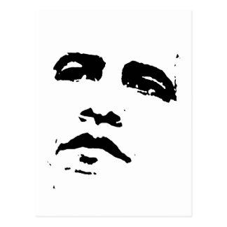 Obama Face T-shirt Postcards