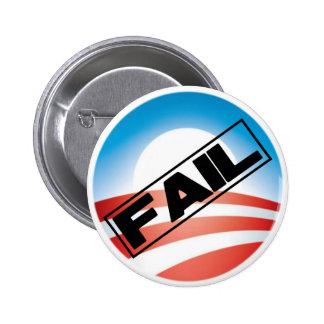 Obama: Fail 6 Cm Round Badge