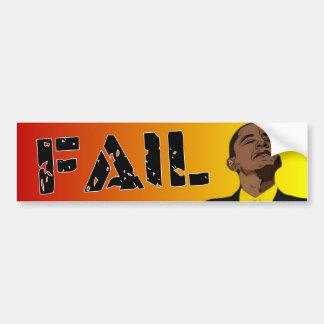 Obama: Fail Bumper Sticker