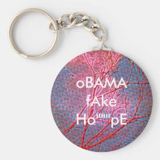 oBAMA fAKE HoPE Key Chains