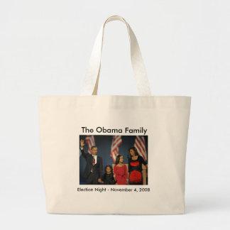 Obama Family Election Night Jumbo Tote Bag