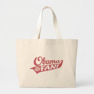 Obama Fan Bag  Jumbo Tote Bag