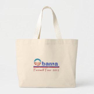 Obama Farewell Tour 2012 Tote Bags