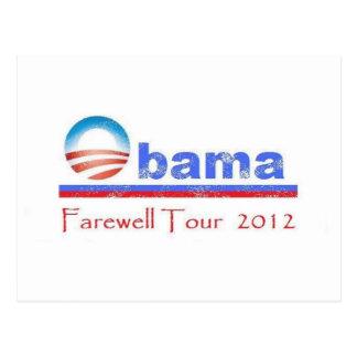 Obama Farewell Tour 2012 Postcard