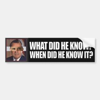 Obama Fast and Furious Bumper Sticker