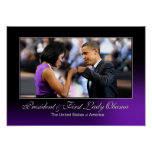 Obama Fist Bump Poster