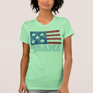 OBAMA Flag T-shirts