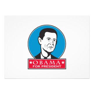 Obama For American President Custom Announcement