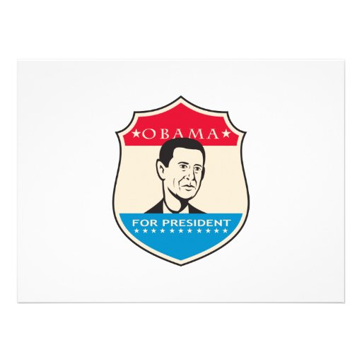Obama For American President Shield Announcements