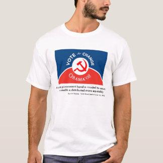 Obama for Change - Mens T-Shirt