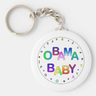 Obama for President Baby Key Chain