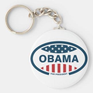 Obama for president key chains