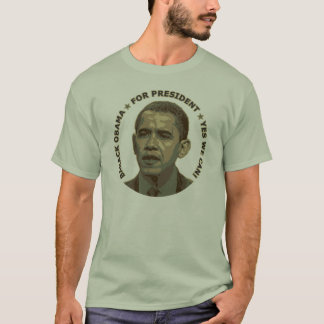 Obama for President (military camouflage) T-Shirt