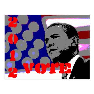 Obama for President Postcard