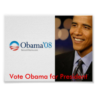 Obama for President Posters