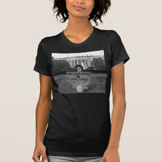 Obama for president T-shirt (Women's version)