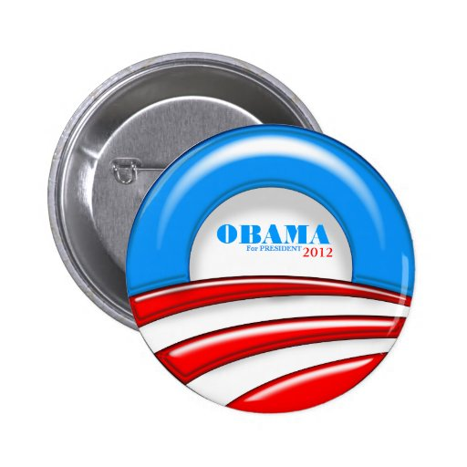 Obama for President US Election Political Button