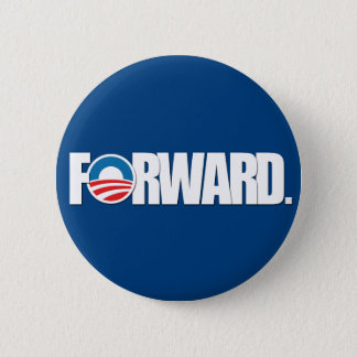 Obama - FORWARD 2012 6 Cm Round Badge