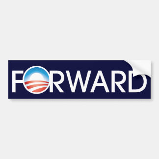 Obama Forward Logo Bumper Sticker