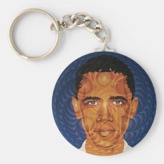 Obama Fractal Keychain