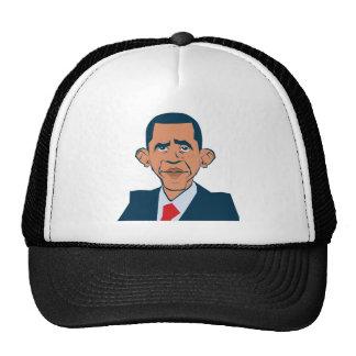 Obama - funny portrait cap