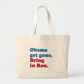 Obama get gone. Bring in Ro Bag