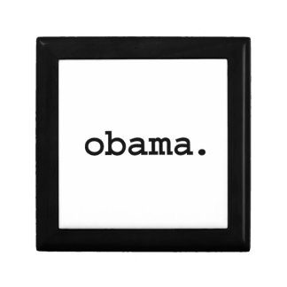 obama. jewelry boxes