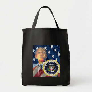Obama Gifts 3 Grocery Tote Bag