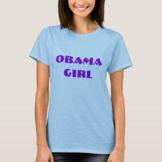 OBAMA GIRL DEMOCRAT t shirt