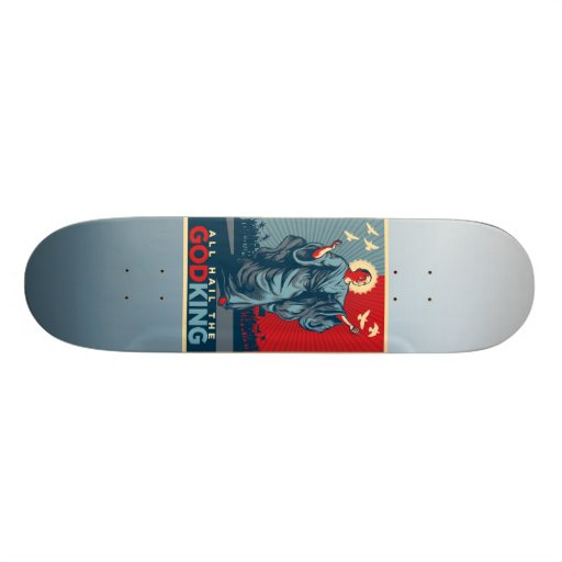 Obama God King Skate Board Deck