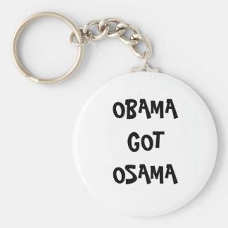 oBAMA got oSAMA Basic Round Button Key Ring