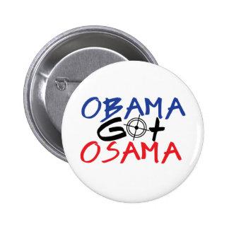 Obama Got Osama Button