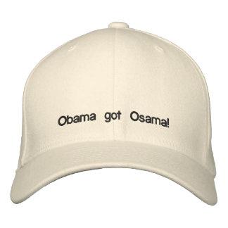Obama got Osama! Embroidered Hats