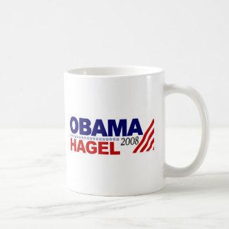 Obama Hagel 2008 Mug