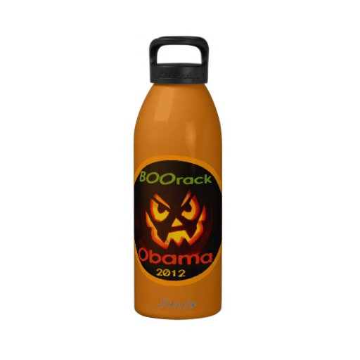 Obama Halloween Water Bottle
