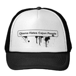 Obama Hates Cajun People - BP Oil Spill Hat