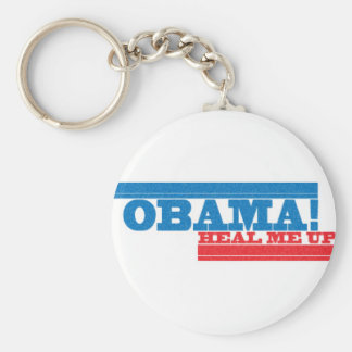 Obama Health Care keyring Basic Round Button Key Ring