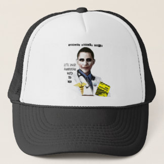 OBAMA HEALTH CARE TRUCKER HAT