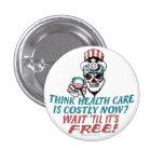 Obama Health Scare Gear by YesPoliticsSuck 3 Cm Round Badge