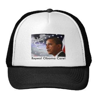 obama_healthcare, Repeal Obama Care! Mesh Hat