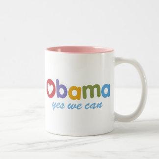 Obama Heart Mug