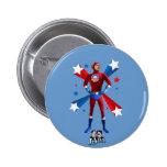 Obama Heroic 6 Cm Round Badge